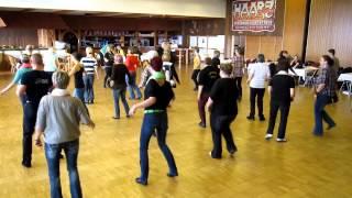 getlinkyoutube.com-Chica Loca  -  Line Dance