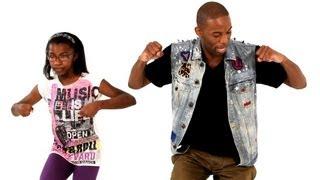 getlinkyoutube.com-How to Do the Funky Walk | Kids Hip-Hop Moves