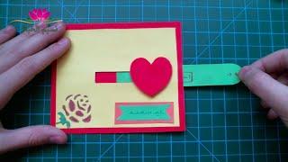 getlinkyoutube.com-اعمال يدوية. بطاقة معايدة قلب