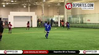 Deportivo 59 vs. Tonalapa Liga Douglas Infantil