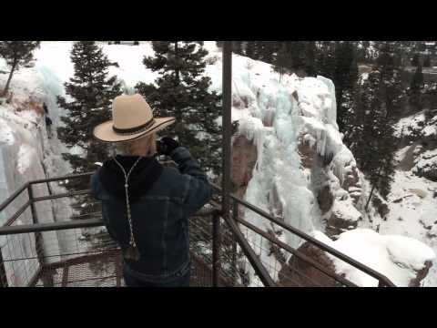Ouray Ice Park - Known as the Switzerland of America and funded by Colorado Lottery proceeds.