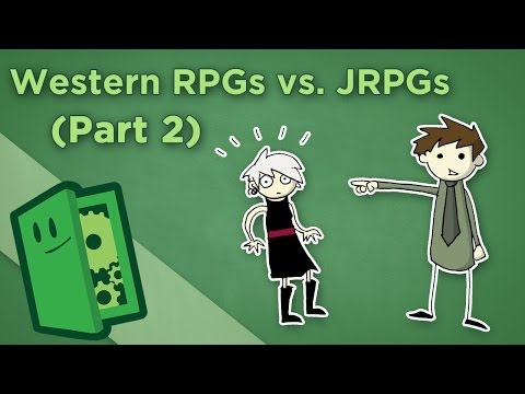 Extra Credits: Western & Japanese RPGs (part 2)