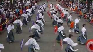 getlinkyoutube.com-舞幻 [MUGEN] 原宿表参道元氣祭スーパーよさこい2014 NHK前ストリート 08232014