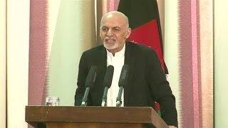 اشرف غنی: با طالبان گفتگو میکنیم اما معامله نه