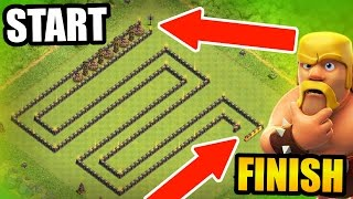 getlinkyoutube.com-Clash Of Clans - WORLDS LARGEST TROLL BASE! - UNDEFEATED SNAKE TROLL!
