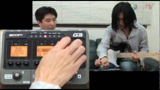 getlinkyoutube.com-楽器流行通信 ZOOM G3 【1484.TV/イシバシ楽器】