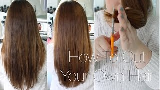 getlinkyoutube.com-How to Cut Your Own Hair