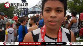 Jared Zacarias Life Time Kids Tri 2016