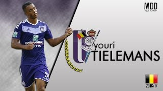 getlinkyoutube.com-Youri Tielemans | Anderlecht | Goals, Skills, Assists | 2016/17 - HD