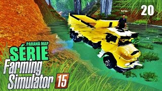 getlinkyoutube.com-Farming Simulator 2015 - ACIDENTE na Ponte Paraná Map