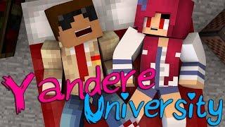 getlinkyoutube.com-Sleep Over | Yandere University [S2: Ep.3 Minecraft Roleplay Adventure]