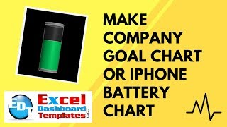 getlinkyoutube.com-Make Company Goal Chart or IPhone Battery Chart in Excel