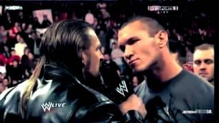 getlinkyoutube.com-Randy Orton Destroys The Evolution - Part 1/2