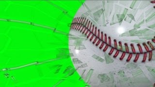 getlinkyoutube.com-Baseball Breaking Glass on Green Screen