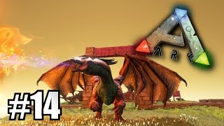 Ark Survival Evolved [EP.14] - กบซ่าล่ามังกรในตำนาน!! (Dragon Mod)