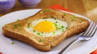 getlinkyoutube.com-توست بالبيض - سهل وسريع للفطار أو العشاء  - مطبخي الصغير