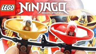 레고 닌자고 고대 기술을 마스터하자! 에어짓주 콜, 카이 장난감 LEGO NINJAGO 70739 70741 Airjitzu Flyer Toy Unboxing & Review