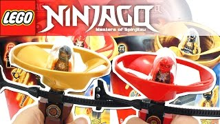 getlinkyoutube.com-레고 닌자고 고대 기술을 마스터하자! 에어짓주 콜, 카이 장난감 LEGO NINJAGO 70739 70741 Airjitzu Flyer Toy Unboxing & Review