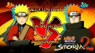 getlinkyoutube.com-Naruto Ultimate Ninja Storm 2 1080p Final Boss 9 Pain Rank S   Naruto Sennin vs Pain Factor Secreto