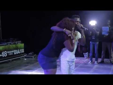 Diamond Platnumz performance at Serengeti Fiesta 2014  @Diamondplatnumz