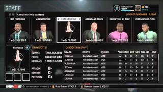 getlinkyoutube.com-NBA 2K16 : Mode My GM #1 - Tanking à Portland