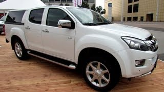 getlinkyoutube.com-2014 Isuzu D-Max Double Cab Premium - Exterior and Interior Walkaround - 2013 Frankfurt Motor Show