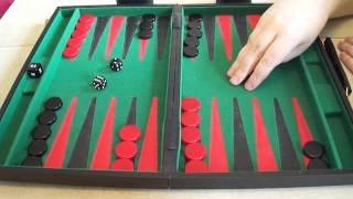 getlinkyoutube.com-Backgammon for complete beginners.  Part 1 - Introduction and The board.