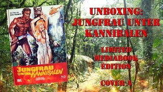 Unboxing - Jungfrau unter Kannibalen - Limited Mediabook Edition - Cover A