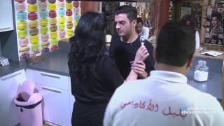 getlinkyoutube.com-مقلب بين رافاييل جبور و حنان الخضر بعد البرايم السادس - ستارأكاديمي 11