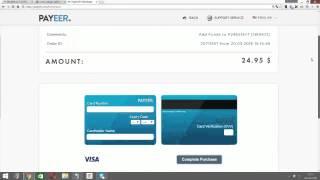 getlinkyoutube.com-Como abrir cuenta en Payeer 2016 | Cargar saldo con tarjeta