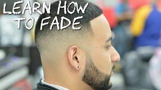 getlinkyoutube.com-HOW TO FADE HAIR! Bald Fade Barber Tutorial