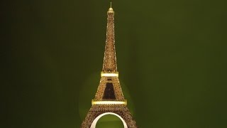 getlinkyoutube.com-Ravensburger Night Edition 3D Puzzle - Eiffel Tower. Including Out-Takes....