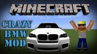 getlinkyoutube.com-Minecraft 1.11 Mods | Crazy BMW Car Mod (Mod Showcase)