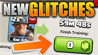 getlinkyoutube.com-MAKE TROOPS FOR FREE!? – Clash of Clans NEW UPDATE GLITCHES! All Bugs / Glitches in NEW CoC Update!