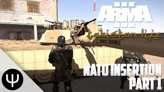 getlinkyoutube.com-ARMA 3: Takistan Life Mod — NATO Insertion — Part 1 — It's a Prank!