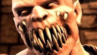 getlinkyoutube.com-Mortal Kombat X - Baraka Death Scene (18+) | D'vorah Fatality