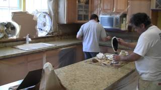 getlinkyoutube.com-Formica to the look of Granite at a fraction of the cost!