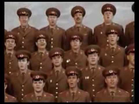 Red Army Choir   Lagu Cossack Don 1972