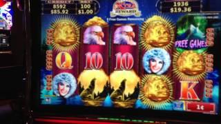 getlinkyoutube.com-Northern Treasure Slot Machine Bonus Spin Win