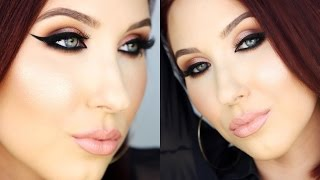 getlinkyoutube.com-My Go To Fierce Makeup Look | Jaclyn Hill