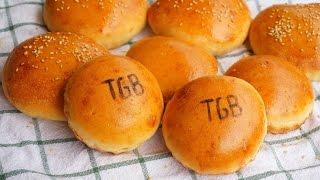Pan de hamburguesas tipo TGB
