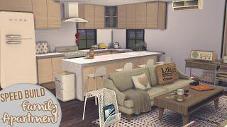 getlinkyoutube.com-SMALL FAMILY APARTMENT [APARTMENT BUILDING #1]   The Sims 4 Speed Build