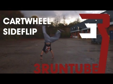 How To Cartwheel Sideflip - 3RUN Tutorial