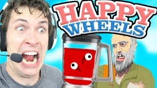 getlinkyoutube.com-Happy Wheels - HUMAN JUICE