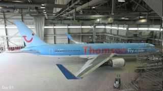 getlinkyoutube.com-Thomson Airways - Modernising the Airline (Time-Lapse)