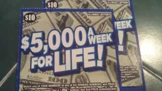 getlinkyoutube.com-$5,000 A WK. FOR LIFE | bob's A WINNER!!!