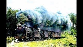 getlinkyoutube.com-蒸気機関車C62_1/3 蒸汽机车C62