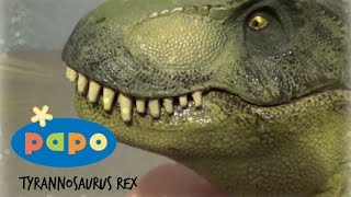 getlinkyoutube.com-Papo || Tyrannosaurus Rex (Version 1) || Review