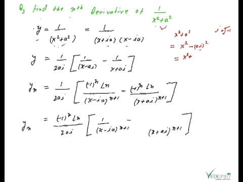 Nth Derivative Part 02, Differential Calculus, Example of nth Derivative