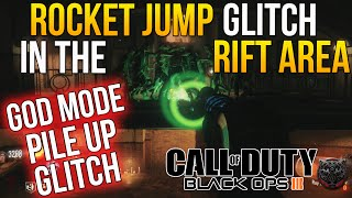 "getlinkyoutube.com-Call of Duty Black Ops 3 Zombies Glitch SOE RIFT AREA ""ROCKET JUMP GLITCH"" PILE UP & GOD MODE GLITCH"